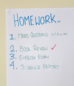 Homework To Do Lists Can Help Teenagers  Become More Productive Students